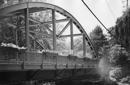Old Mill Road Bridge (sandblastng), 1980