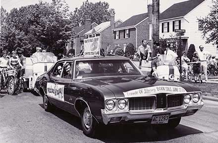 1971 Memorial Day Parade in University Hts.