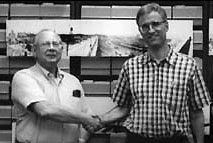 CUT collection donors, Gerald Adams and Bob Linsey