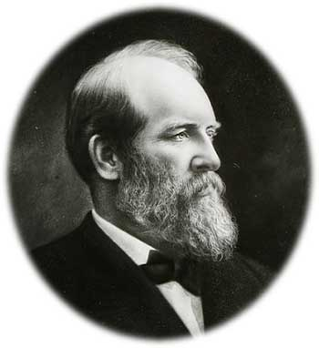 James A. Garfield, ca. 1880.