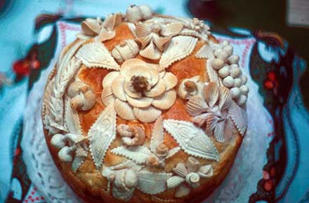 Ukrainian Wedding Bread, 1979