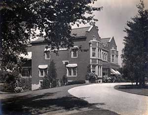 Side view of Glenallen Estate
