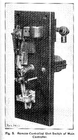 Figure 5 - Remote controlled unit switch