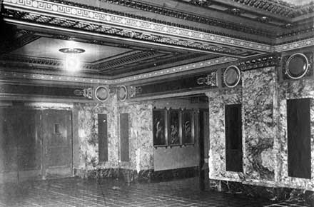 Public Hall, interior detail, 1922.