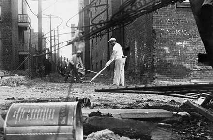 Cleaning up after the 1966 Hough riots