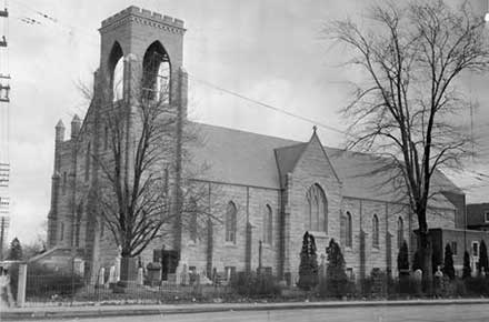 Saint Patrick Roman Catholic Church, 1952.