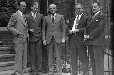 Executives of Industrial Rayon Corp., 1938