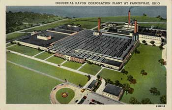 Postcard of the Painesville plant