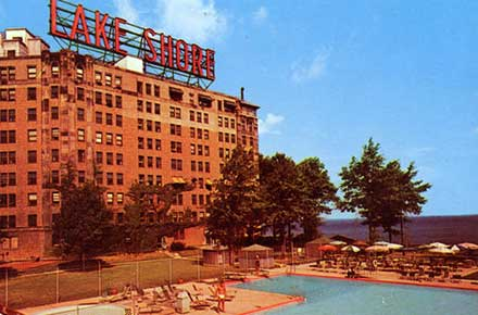 The Lake Shore Hotel, ca.1960
