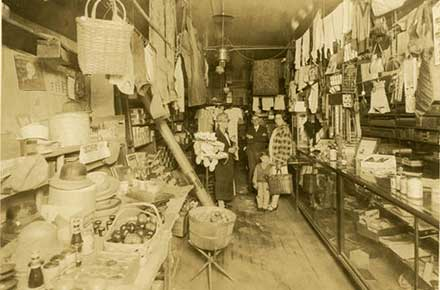 A gathering at Galbraith's General Store