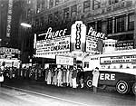 Cinerama at the Palace Theatre, 1958