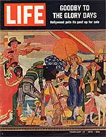 Life Magazine cover from Feb. 27, 1970 featuring James Daugherty mural