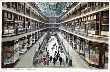 Postcards of Cleveland : The Cleveland Memory Project
