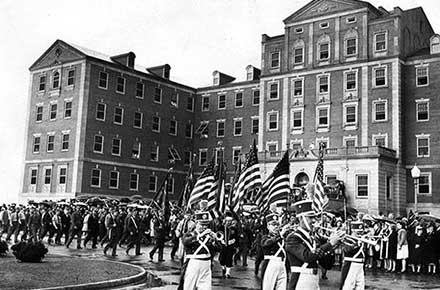 Blossom Hill Veterans Hospital dedication, 1941