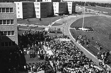 Brecksville Veterans Administration Hospital Dedication, 1961