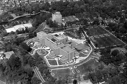 Wade Park Veterans Administration Hospital, 1964