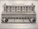 Thumbnail of Balustrade and Iron Cornice