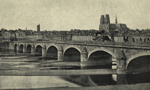 Thumbnail of the Stone Bridge over the Loire At Orleans