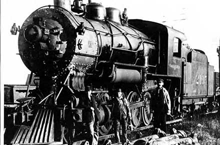 Engine No. 2135, Columbia Yard, 1905